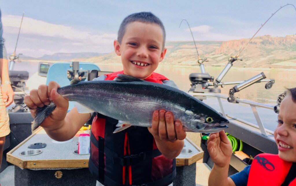 Blue Mesa Fishing Guide, Guided fishing trips in Colorado