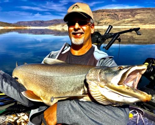 Trophy Blue Mesa lake trout
