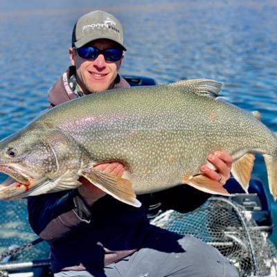 Giant Colorado Lake Trout